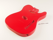 Lightweight Vintage Single-Cutaway Body Cardinal Red - Blemished