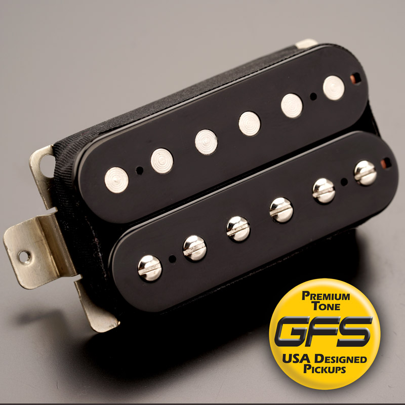 Gfs Professional Series Alnico Ii Humbucker Black Bridge
