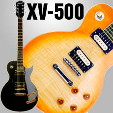 XV-500 Series Solid Mahogany- SOLID carved  Maple Tops