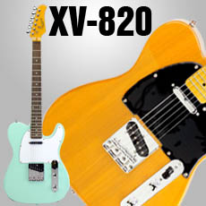 XV-820 Single Cutaway Solid Body