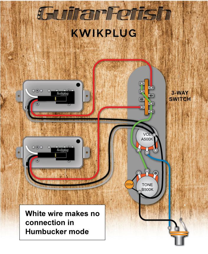 Tele 2 Humbuckers, Gfs Wiring Diagram