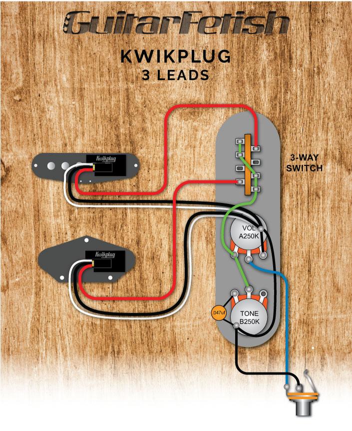 Tele® Standard 3-Way SwitchGuitarfetish