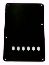 Black tremolo rear cover plate