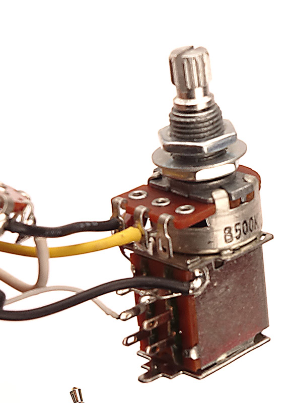 KEPPUSHPULL Wiring Stratocaster on