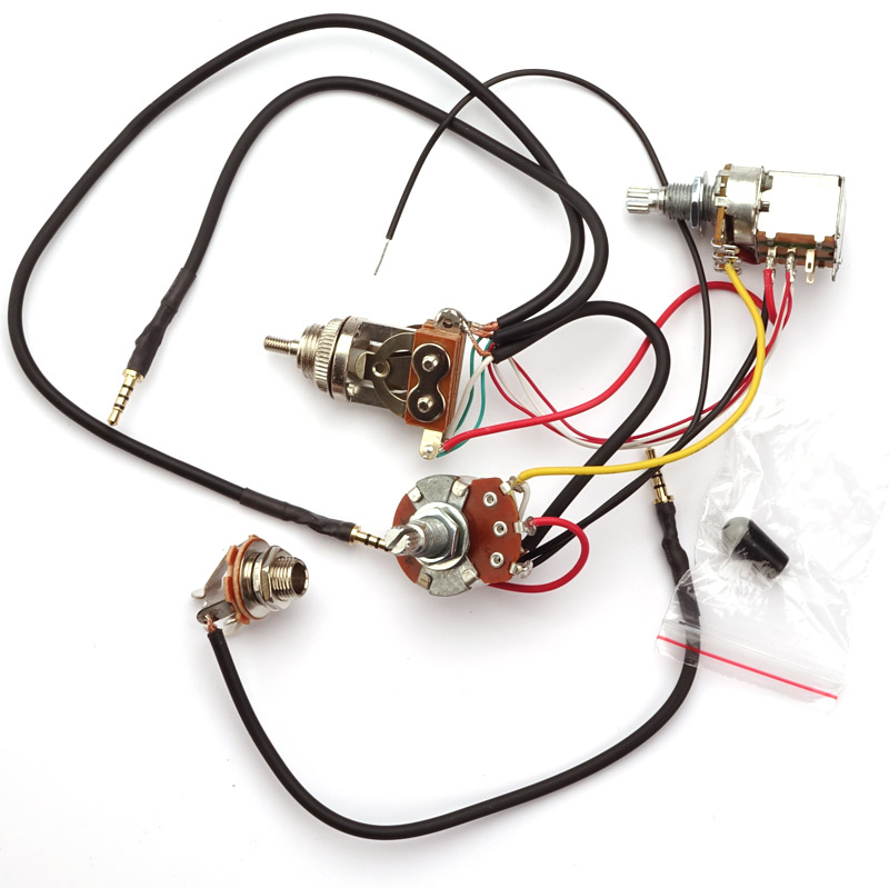 kwikplug universal two hb coil tap wiring harness pre soldered drop in. Black Bedroom Furniture Sets. Home Design Ideas