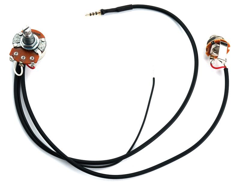 kwikplug solo humbucker harness  500k pot  pre