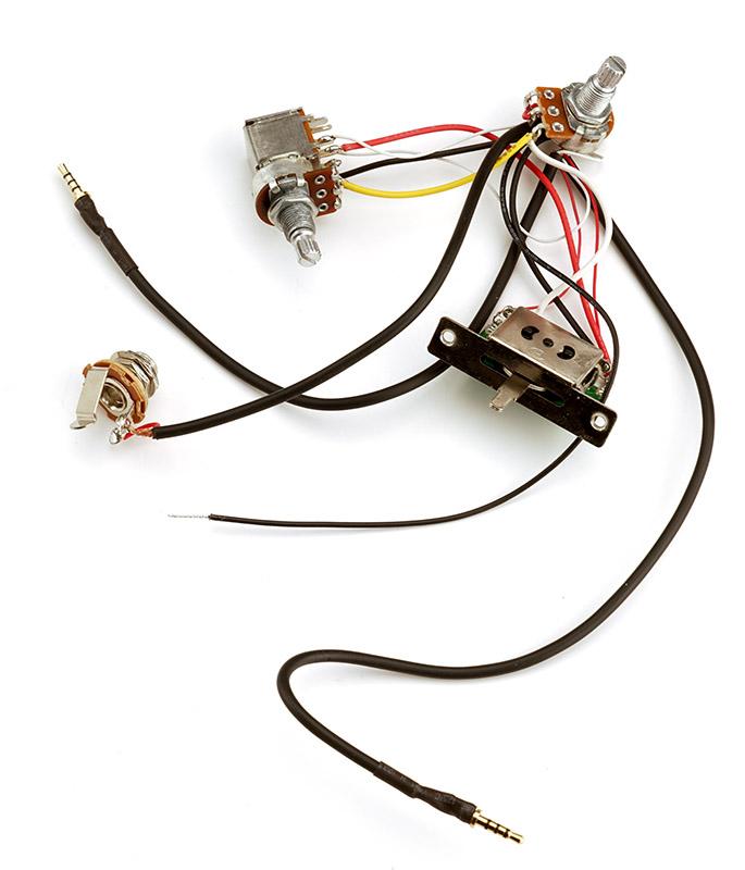 kwikplug mini harness tele harness hh 3 way 500k pots coil tap. Black Bedroom Furniture Sets. Home Design Ideas