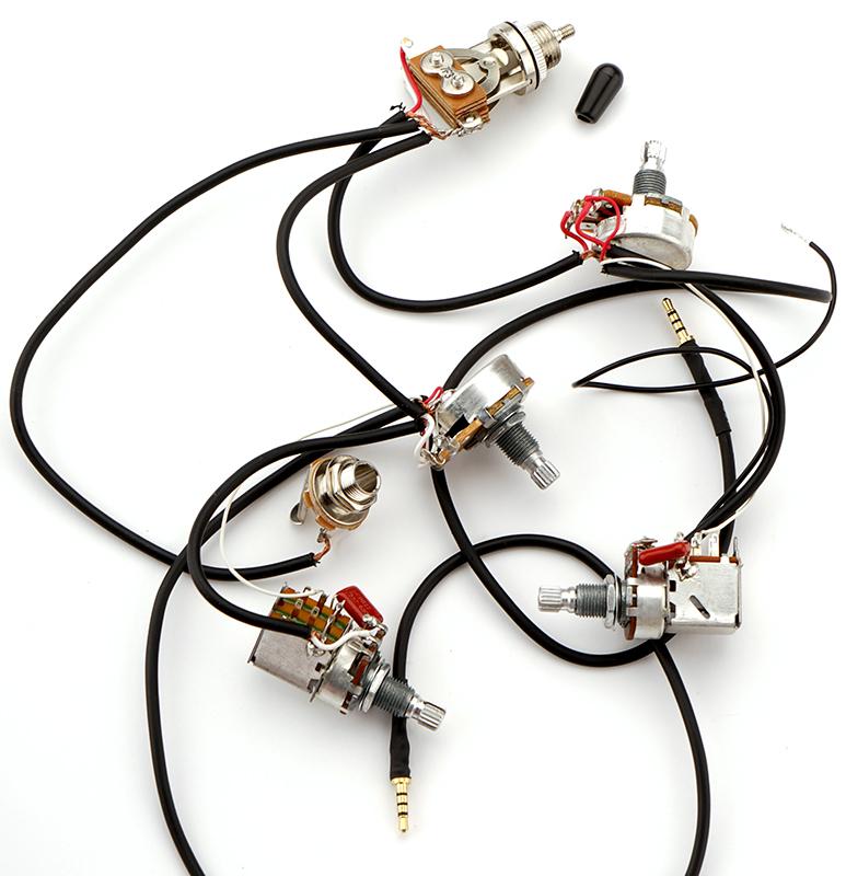 Kwikplug Es 335 Semi Hollow Coil Tap 2 Humbucker Harness