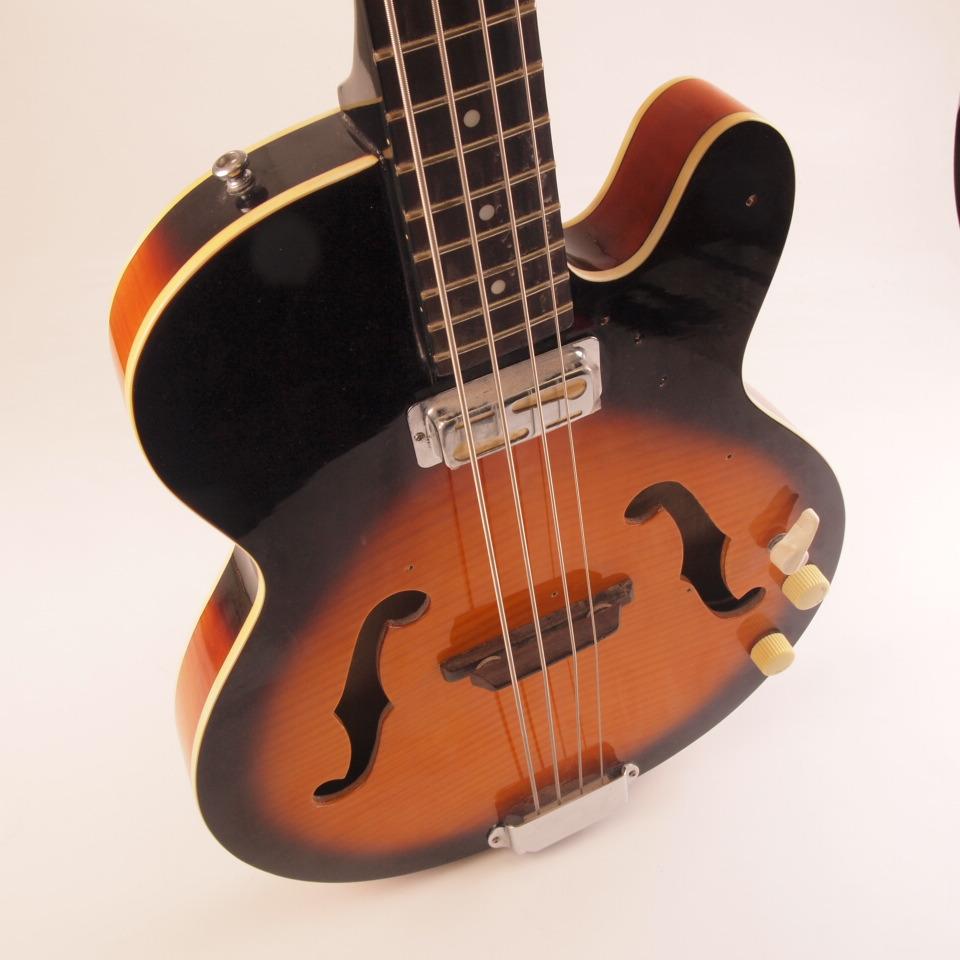 Harmony H22 Wiring Harness Trusted Diagram Wire Hallowbody Bass Guitar Sunburst Single Pickup Missing