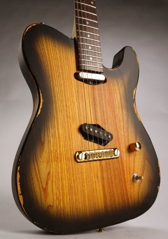 slick sl50 aged sunburst dual telecaster pickups. Black Bedroom Furniture Sets. Home Design Ideas