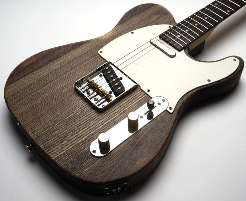 slick sl51 aged brown woodgrain dual telecaster pickups. Black Bedroom Furniture Sets. Home Design Ideas