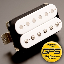 White Humbucker Sized Pickups