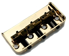 GOLD Cutaway Wilkinson Compensated Bridge Brass Saddles - Fits Tele®