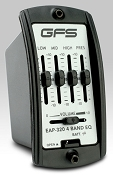 GFS EAP-320 Acoustic Preamp 4-Band EQ