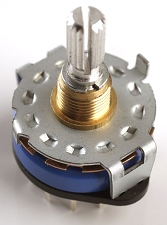 5-Way Rotary Switch for use with pickguard.