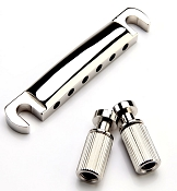 XGP USA Gibson fit Nickel Stop Tailpeice with Studs- OEM style- OUR BEST!