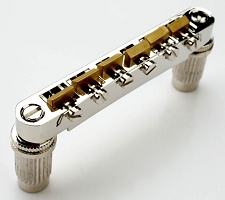 XGP Import fit Nickel Tuneomatic Bridge- BRASS Saddles- OUR BEST!