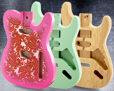 BEST VALUE! Guitarfetish Necks and Bodies at WHOLESALE!