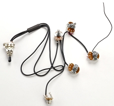 Les Paul Pre-Soldered Installation Kit- Includes switch with tip