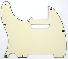 LEFTY Telecaster Pickguard