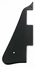 Les Paul replacement Vintage Style Pickguard Black Single Ply