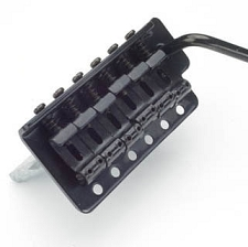 LEFTY Vintage Black Tremolo fits Mexican, Korean, Chinese made guitars