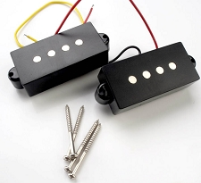 P Bass Pickups- ceramic magnets