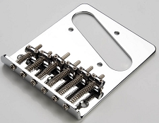 Tele style Bridgeplate top mount with hardware