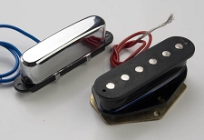 Single Coil Pickups- Pair- Fits Telecaster® - ceramic magnets