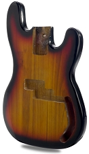 P Bass Lightweight Body Tobacco Sunburst