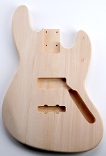 Solid Poplar Jazz Bass Style Body No FInish