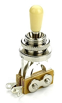 USA Style Les Paul Toggle Switch- Chrome / Cream