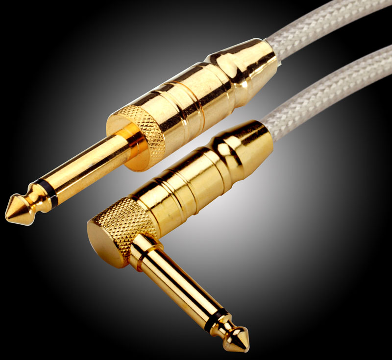 30 ft our best straight right angle lo impedance silver cable made in uk. Black Bedroom Furniture Sets. Home Design Ideas