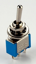 SPDT Two Position mini Toggle Switch