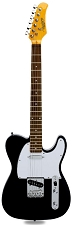XV-820 Gloss Black Rosewood Fingerboard