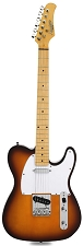 Lowered Price! XV-820 Vintage Style Sienna Sunburst Maple Fingerboard