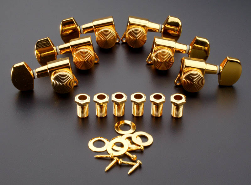 Sperzel Style Locking Tuners 3x3 Gold