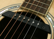 GFS Soundhole Magnetic Pickup Ceramic magnet for Extra Clarity