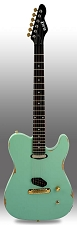 Slick SL50 Aged Surf Green Dual Single-Coil Pickups