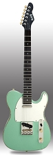 Slick SL51 Aged Surf Green Dual Single-Coil Pickups