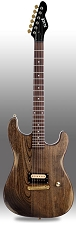 Slick SL54 Aged Woodgrain Single Humbucker Pickup