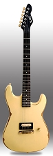 Slick SL54 Distressed Vintage Cream Single Humbucker Pickup