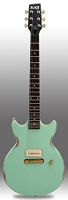 Slick SL59 Aged Surf Green P90 Pickup