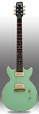 Slick SL60 Aged Surf Green Dual P90 Pickup