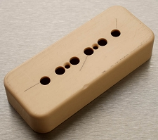 Hand Aged P90 Cover- Correct Gibson size- Cream