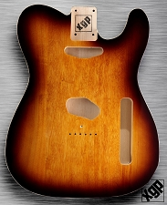 XGP Professional Double Bound Tele Body Vintage Sunburst