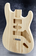 Unfinished LIghtweight Stratocaster Style HS Body