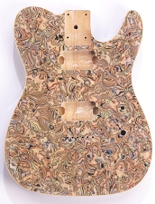 Mother of Pearl Single-Cutaway Body 2 Humbuckers Swirled