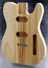 Lightweight Unfinished Tele® Style Body 2 Humbuckers and trem