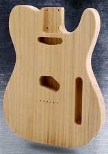 Super Lightweight Unfinished Tele Style Body